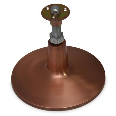 Подпятники Porter Pro Luxe для опор стола регулируемые 4шт латунные