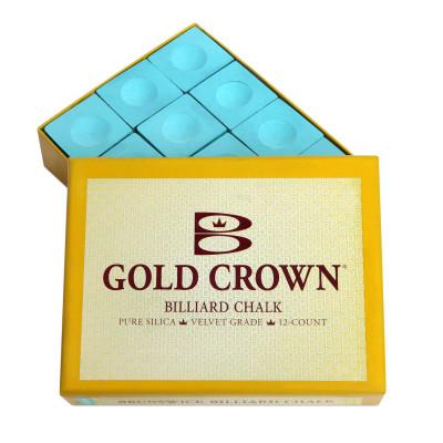 Мел бильярдный Brunswick GoldCrown Green 12шт