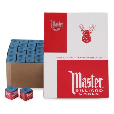 Мел бильярдный Master Blue 144 шт за 2790.00 руб.