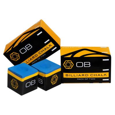 Мел бильярдный OB Chalk Blue 2шт