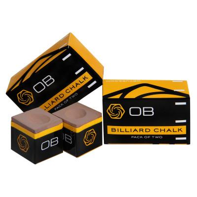 Мел бильярдный OB Chalk Gold 2шт