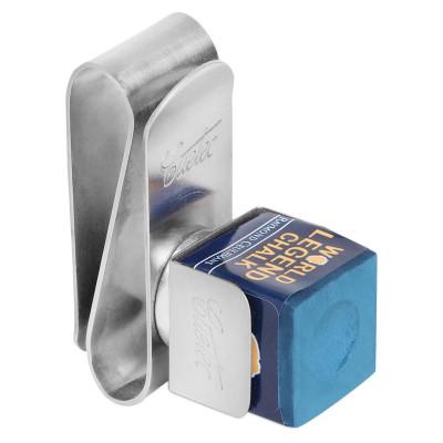 Держатель магнитный для бильярдного мела Cuetec металлический