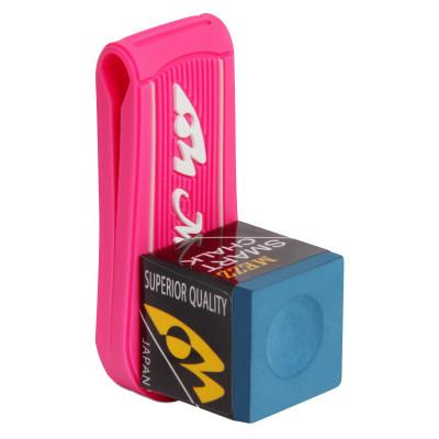 Клипса магнитного держателя бильярдного мела Mezz розовый