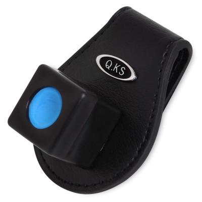 Держатель магнитный для бильярдного мела QK-S X5 Luxe кожаный