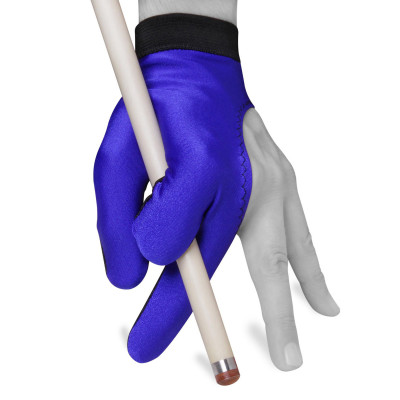 Перчатка для бильярда Color Classic синяя M/L
