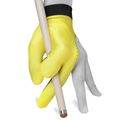 Перчатка для бильярда Color Classic желтая M/L