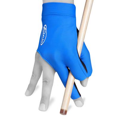 Перчатка для бильярда KamuiQuickDry правая синяя S