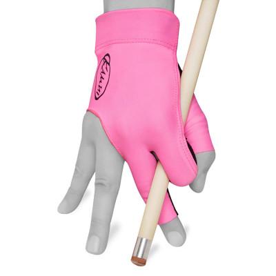 Перчатка для бильярда KamuiQuickDry правая розовый XL