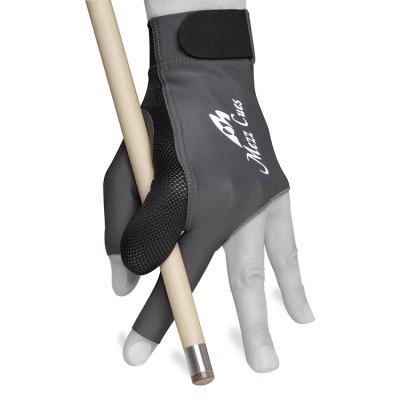 Перчатка для бильярда Mezz Premium MGR-H черная/серая S/M