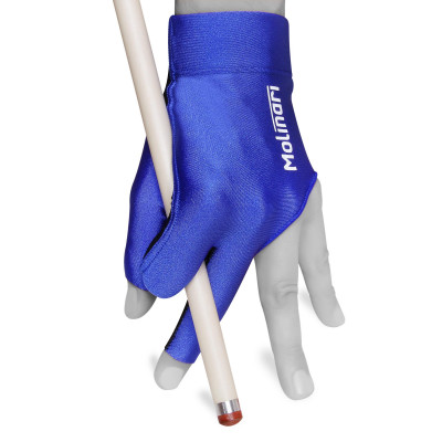 Перчатка для бильярда Molinari синяя безразмерная