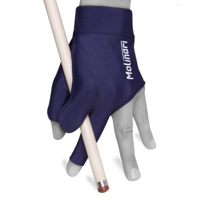 Перчатка для бильярда Molinari темно-синяя безразмерная