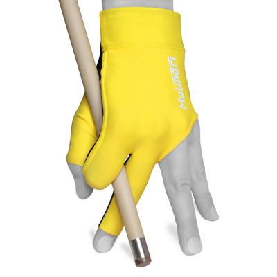 Перчатка для бильярда Molinari желтая безразмерная