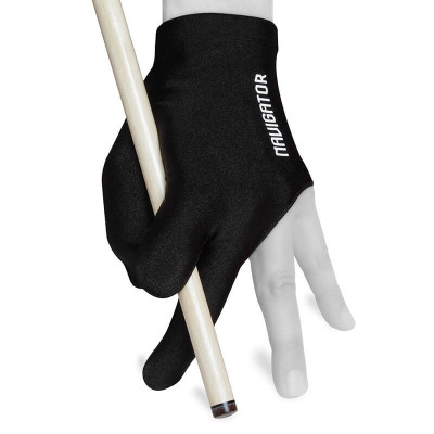Перчатка для бильярда Navigator Glove черная безразмерная