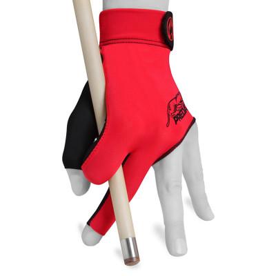 Перчатка для бильярда Predator Second Skin черная/красная L/XL