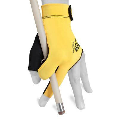 Перчатка для бильярда Predator Second Skin черная/желтая L/XL