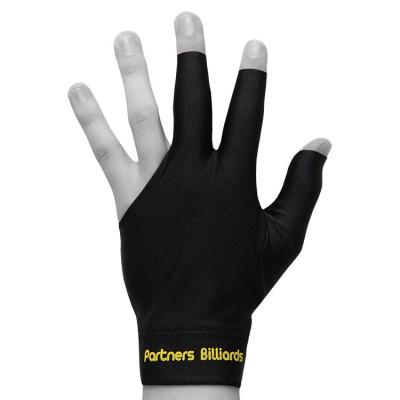 Перчатка для бильярда PartnersBilliards черная безразмерная