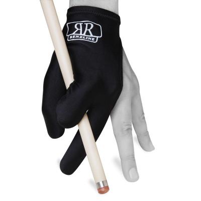 Перчатка для бильярда Renzline черная безразмерная