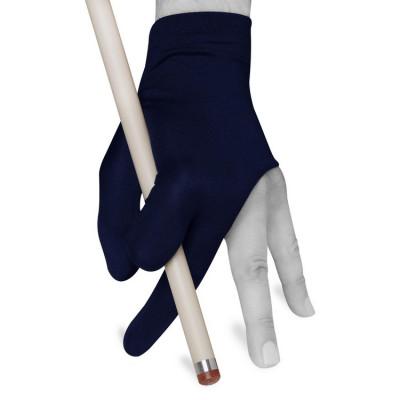 Перчатка для бильярда Skiba Economy темно-синяя безразмерная