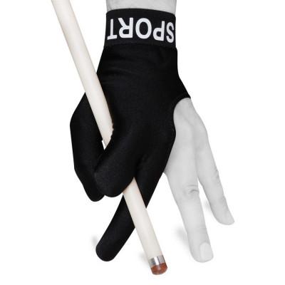 Перчатка для бильярда Skiba Sport черная XL