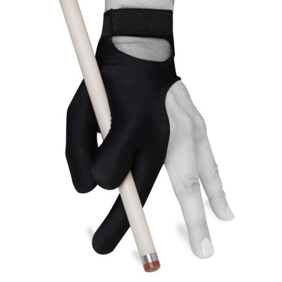 Перчатка для бильярда Skiba Classic Velcro черная S