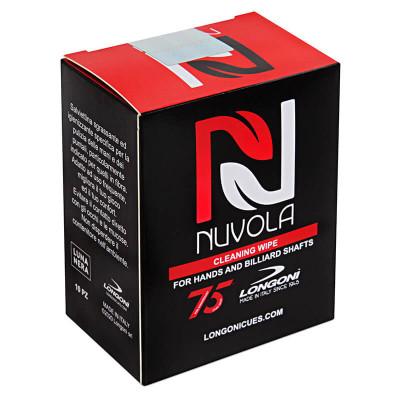 Салфетки для чистки кия и рук Longoni Nuvola 10шт