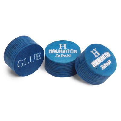 Наклейка для кия Navigator Blue Impact Snooker Ø11мм Hard