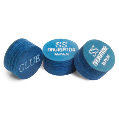 Наклейка для кия Navigator Blue Impact Snooker Ø11мм Super Soft