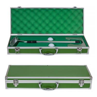 Набор для мини-гольфа в зеленом кейсе
