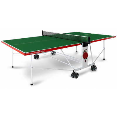 Стол теннисный Start Line CompactExpert Outdoor Green всепогодный