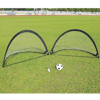 Футбольные ворота DFC FoldableSoccer черные 2 шт